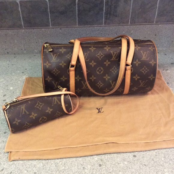 a55d06dec64b Louis Vuitton Handbags - Louis Vuitton Papillon 26 with mini Papillon